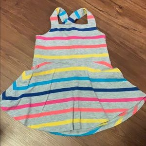 Adorable striped baby gap skater dress